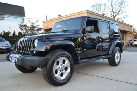2015 Jeep Wrangler Unlimited for sale at Father and Son Auto Lynbrook in Lynbrook NY