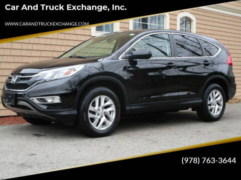 2016 Honda CR-V for sale at Car and Truck Exchange, Inc. in Rowley MA