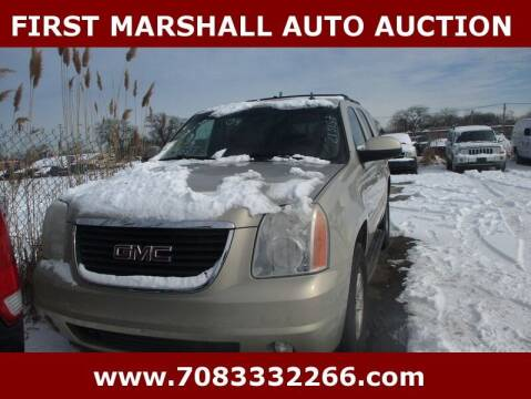 2009 GMC Yukon for sale at First Marshall Auto Auction in Harvey IL