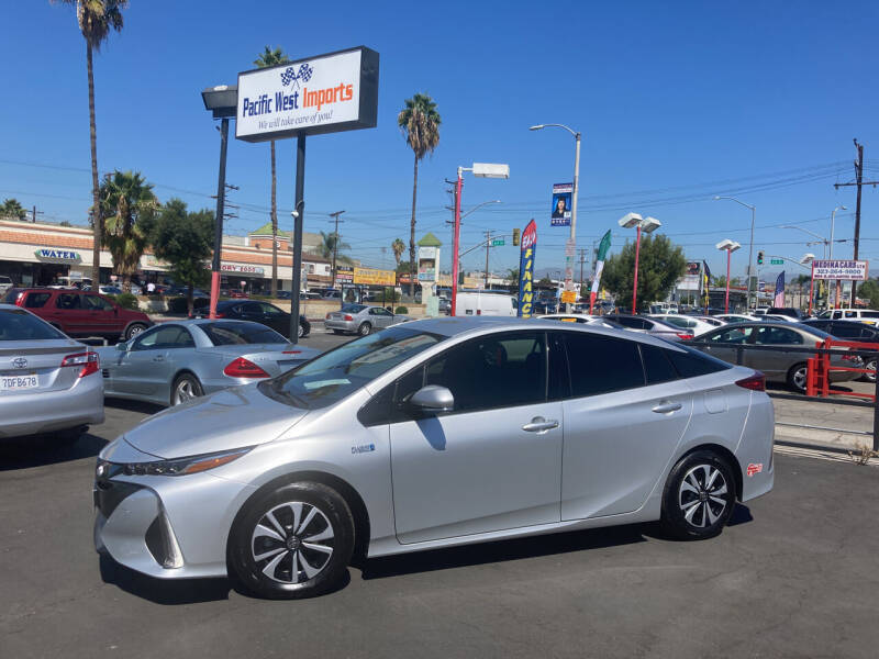2017 Toyota Prius Prime for sale at Pacific West Imports in Los Angeles CA