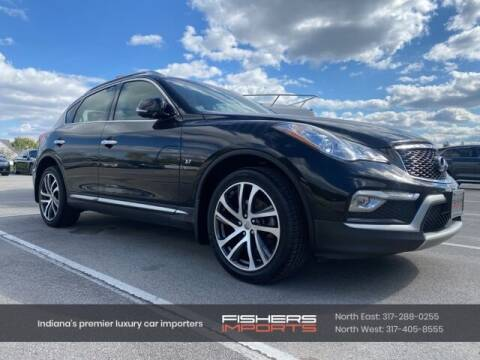 2017 Infiniti QX50 for sale at Fishers Imports in Fishers IN