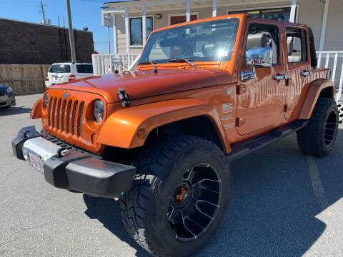 2010 Jeep Wrangler Unlimited for sale at Georgia Car Shop in Marietta GA
