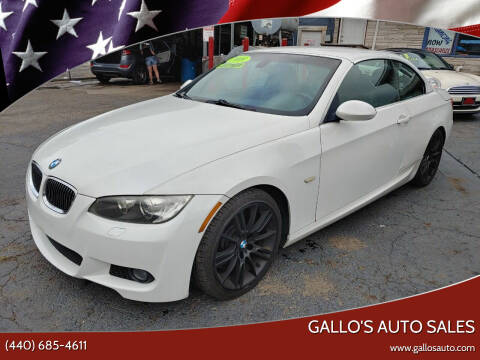 2009 BMW 3 Series for sale at Gallo's Auto Sales in North Bloomfield OH
