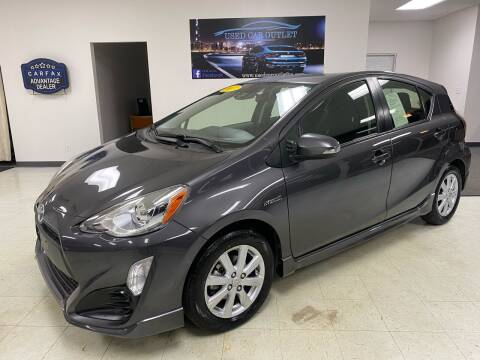 2017 Toyota Prius c for sale at Used Car Outlet in Bloomington IL