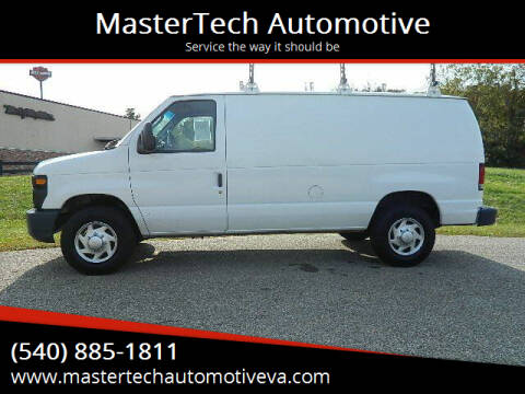 2012 Ford E-Series Cargo for sale at MasterTech Automotive in Staunton VA
