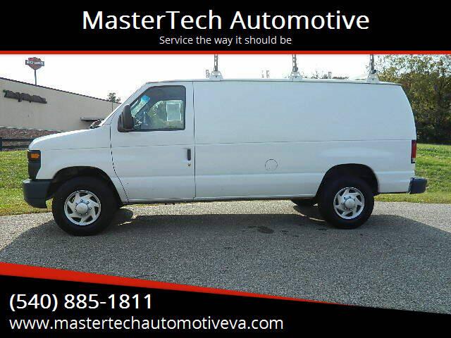 2012 Ford E-Series Cargo for sale at MasterTech Automotive in Staunton VA