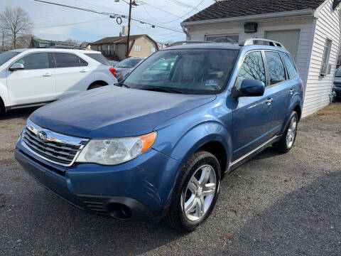 2010 Subaru Forester for sale at Charles and Son Auto Sales in Totowa NJ