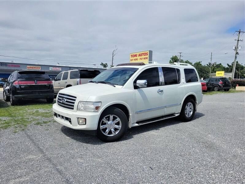 2005 Infiniti QX56 for sale at TOMI AUTOS, LLC in Panama City FL