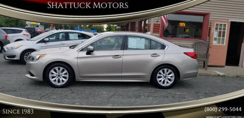 2016 Subaru Legacy for sale at Shattuck Motors in Newport VT