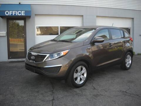 2013 Kia Sportage for sale at Best Wheels Imports in Johnston RI