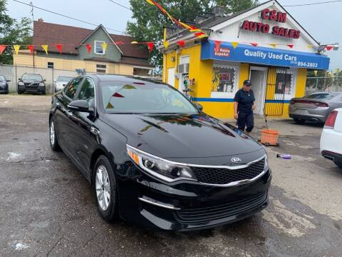 2018 Kia Optima for sale at C & M Auto Sales in Detroit MI