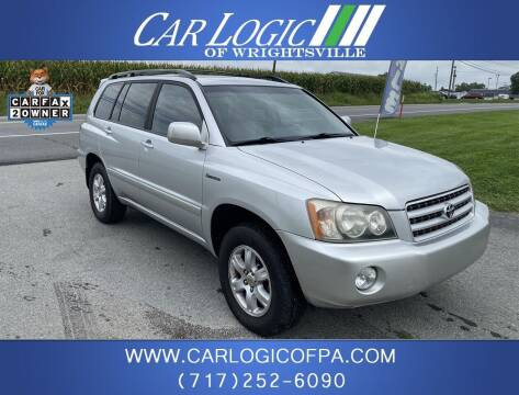 2002 Toyota Highlander for sale at Car Logic in Wrightsville PA