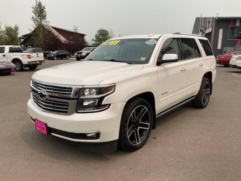 2017 Chevrolet Tahoe for sale at Snyder Motors Inc in Bozeman MT