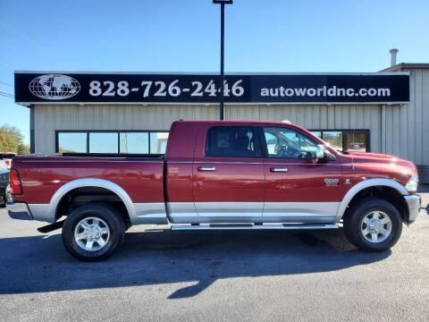 2012 RAM Ram Pickup 3500 for sale at AutoWorld of Lenoir in Lenoir NC