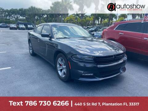 2016 Dodge Charger for sale at AUTOSHOW SALES & SERVICE in Plantation FL