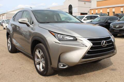 2017 Lexus NX 200t for sale at SHAFER AUTO GROUP in Columbus OH