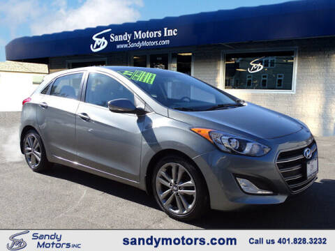 2017 Hyundai Elantra GT for sale at Sandy Motors Inc in Coventry RI