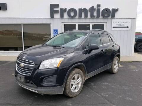 2016 Chevrolet Trax for sale at Frontier Motors Automotive, Inc. in Winner SD