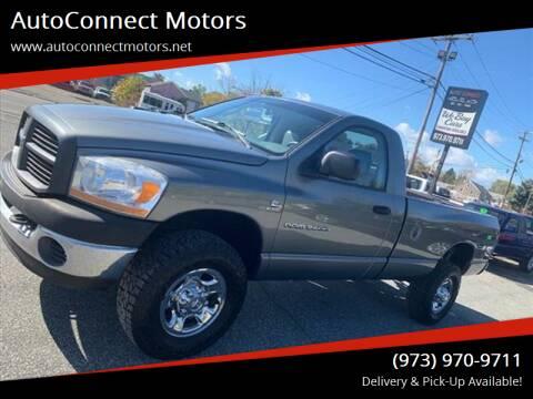 2006 Dodge Ram Pickup 2500 for sale at AutoConnect Motors in Kenvil NJ