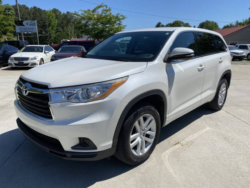 2014 Toyota Highlander for sale at Auto Class in Alabaster AL