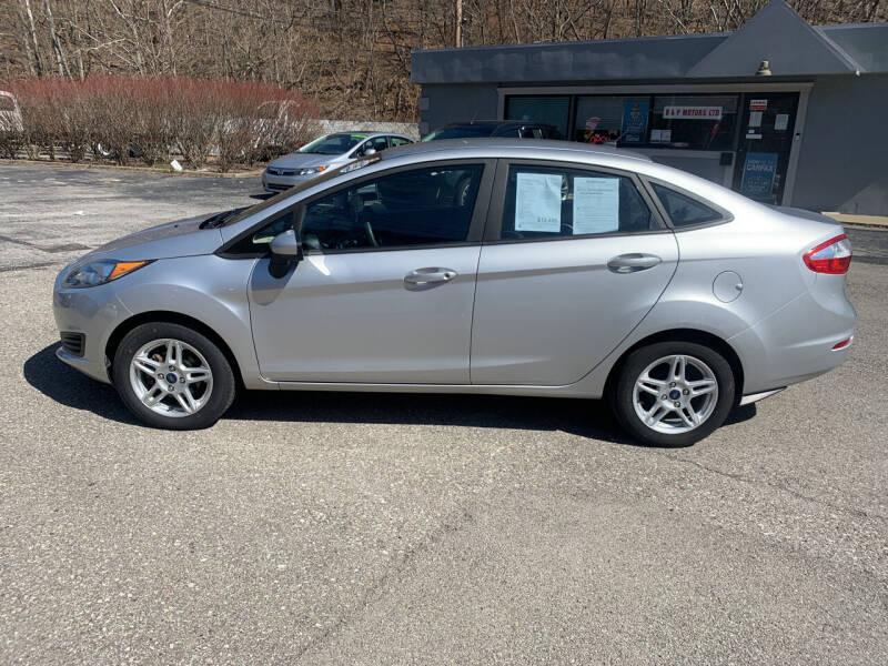 2018 Ford Fiesta for sale at B & P Motors LTD in Glenshaw PA