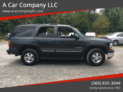 2003 Chevrolet Tahoe for sale at A Car Company LLC in Washougal WA
