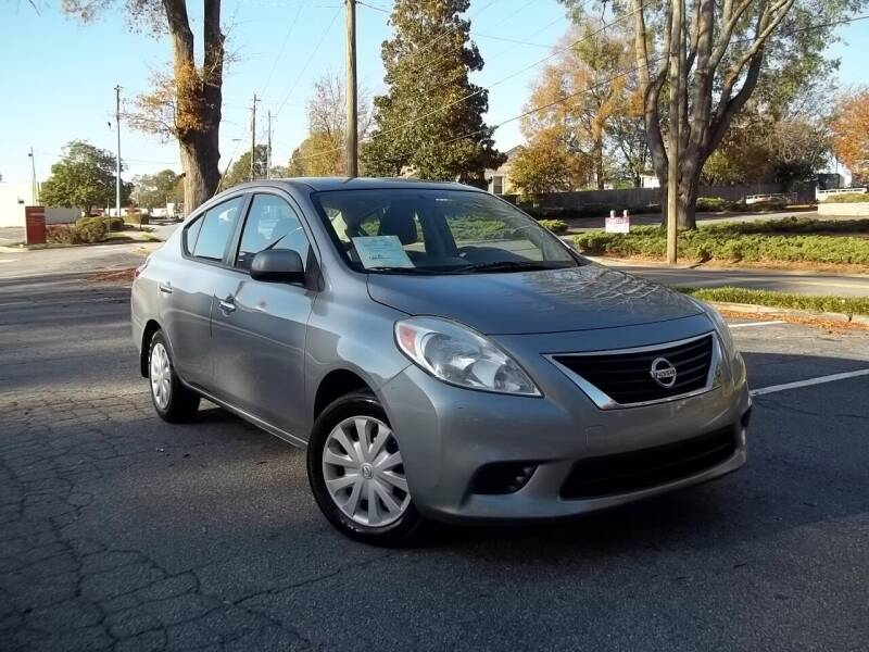 2012 Nissan Versa for sale at CORTEZ AUTO SALES INC in Marietta GA