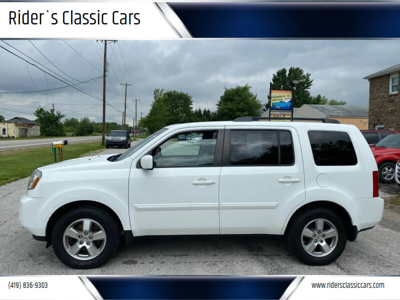 2011 Honda Pilot for sale at Rider`s Classic Cars in Millbury OH