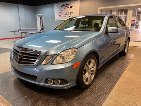 2011 Mercedes-Benz E-Class for sale at Quality Autos in Marietta GA