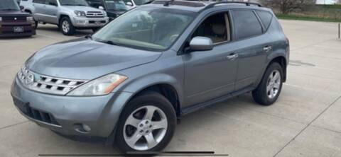 2005 Nissan Murano for sale at VICTORY LANE AUTO in Raymore MO