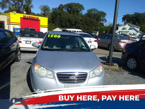 2007 Hyundai Elantra for sale at Marino's Auto Sales in Laurel DE