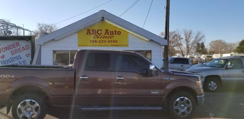 2011 Ford F-150 for sale at ABC AUTO CLINIC in American Falls ID