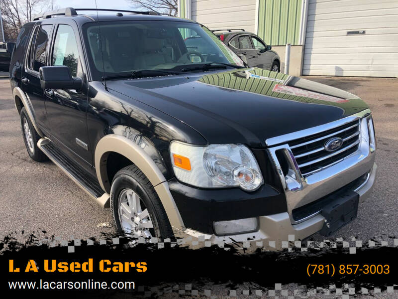 2007 Ford Explorer for sale at L A Used Cars in Abington MA