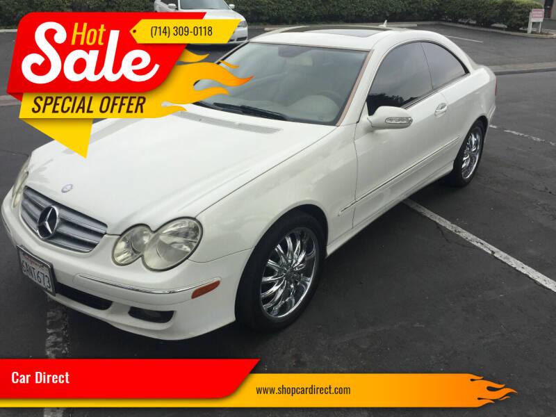 2007 Mercedes-Benz CLK for sale at Car Direct in Orange CA