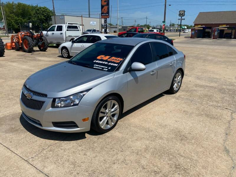 2013 Chevrolet Cruze for sale at C4 AUTO GROUP in Claremore OK
