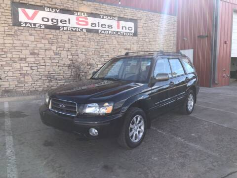 2005 Subaru Forester for sale at Vogel Sales Inc in Commerce City CO