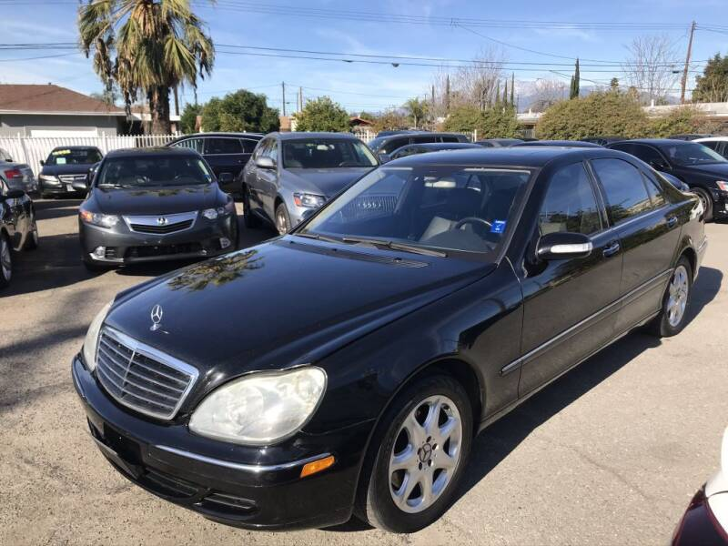 2006 Mercedes-Benz S-Class for sale at AutoHaus in Colton CA