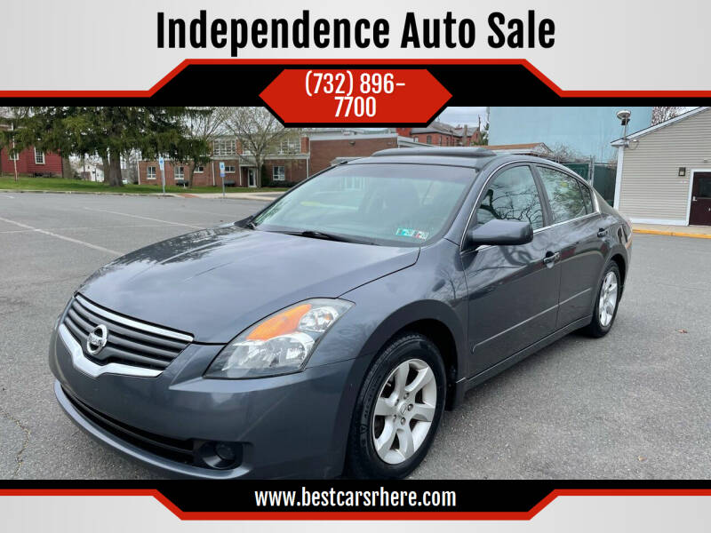 2007 Nissan Altima for sale at Independence Auto Sale in Bordentown NJ
