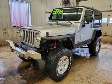 2006 Jeep Wrangler for sale at Sand's Auto Sales in Cambridge MN
