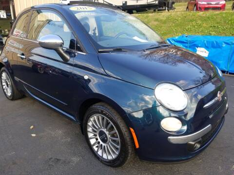 2015 FIAT 500c for sale at W V Auto & Powersports Sales in Cross Lanes WV