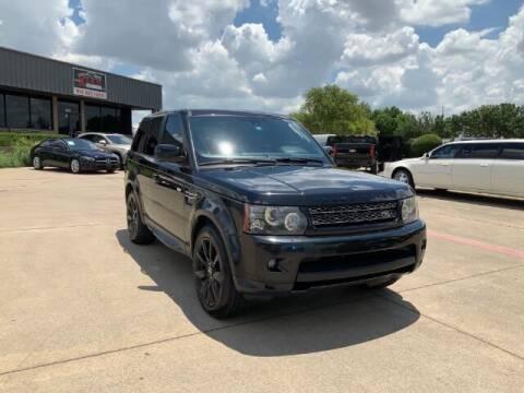 2013 Land Rover Range Rover Sport for sale at KIAN MOTORS INC in Plano TX