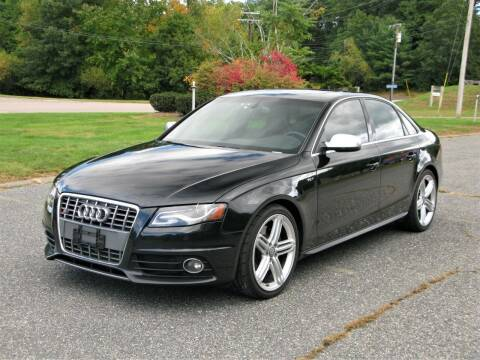 2010 Audi S4 for sale at The Car Vault in Holliston MA