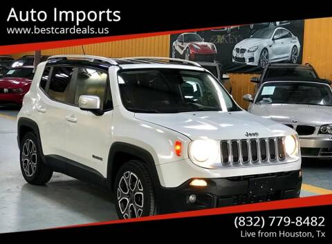 2015 Jeep Renegade for sale at Auto Imports in Houston TX