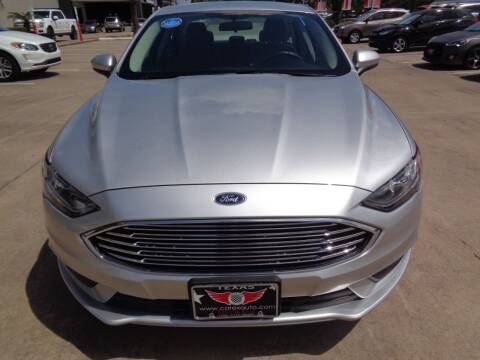 2018 Ford Fusion Hybrid for sale at Car Ex Auto Sales in Houston TX
