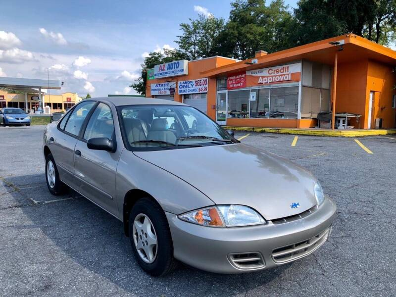 2001 Chevrolet Cavalier for sale at AZ AUTO in Carlisle PA