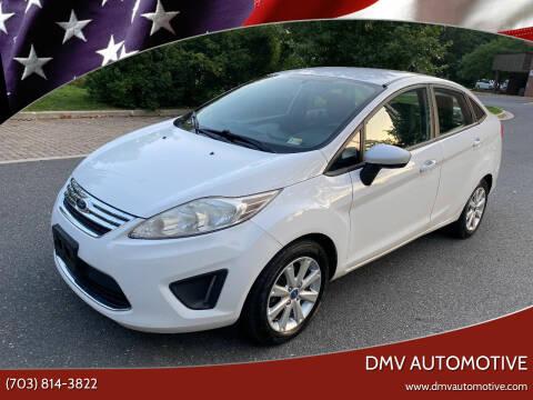 2012 Ford Fiesta for sale at DMV Automotive in Falls Church VA