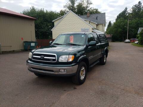 2000 Toyota Tundra for sale at WB Auto Sales LLC in Barnum MN