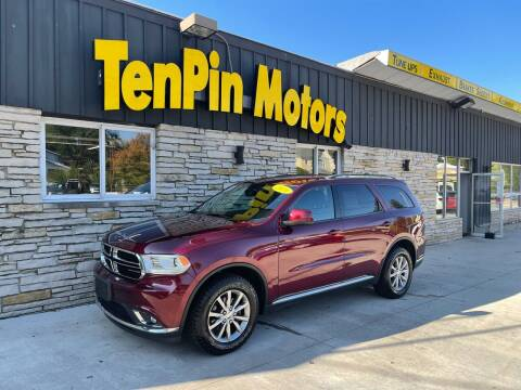 2016 Dodge Durango for sale at TenPin Motors LLC in Fort Atkinson WI