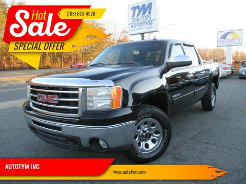 2012 GMC Sierra 1500 for sale at AUTOTYM INC in Fredericksburg VA