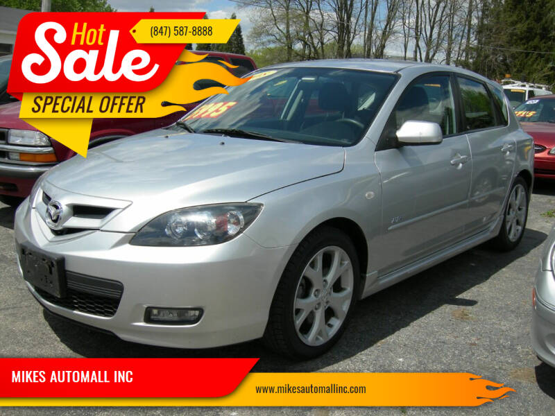 2008 Mazda MAZDA3 for sale at MIKES AUTOMALL INC in Ingleside IL